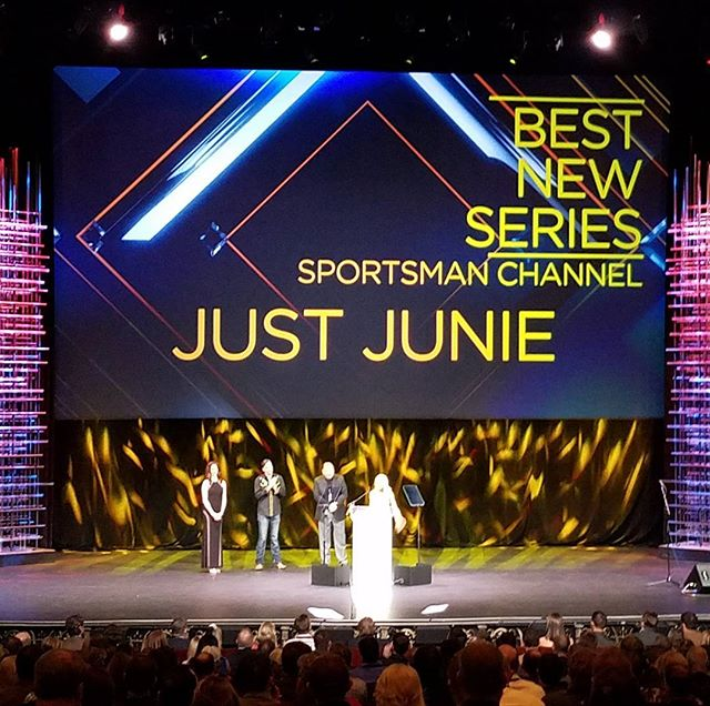 We made it! Our show won Best New Series!!! So excited & honored to work on this show with awesome p
