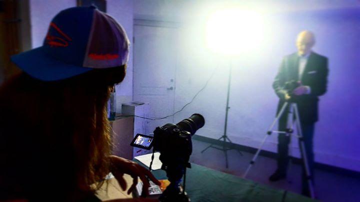 Filming Corporate Promos