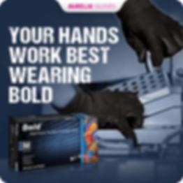 Aurelia gloves BOLD