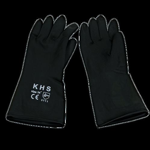 Γάντια βιομηχανικά latex 90 gr.