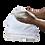 Thumbnail: Πετσέτα βαμβακερή λευκή 35x35 cm