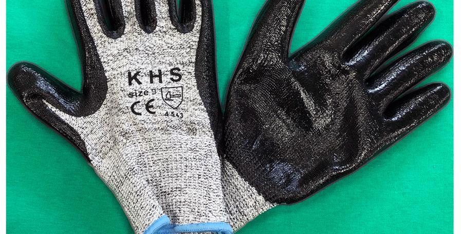 Γάντια υψηλής αντοχής με νιτρίλιο