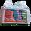 Thumbnail: Strofinaccio Πανιά χρωματιστά τούβλο 1κιλού