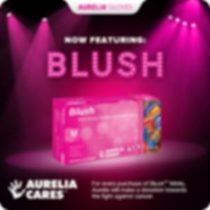 Aurelia gloves Blush
