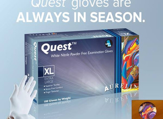 Aurelia nitrile Gloves