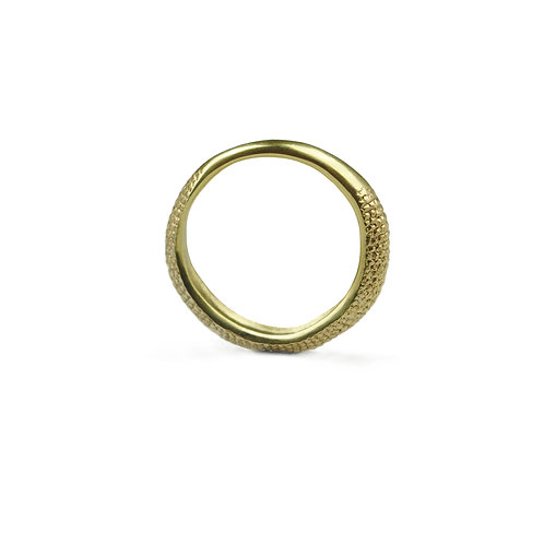 Gold Slim Tail Stacking Ring