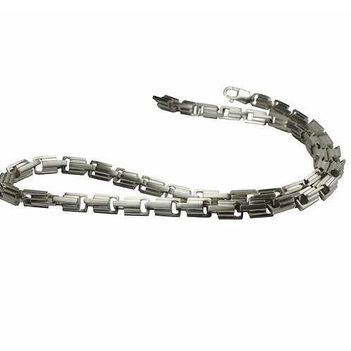 Silver Small Link Necklace Chain
