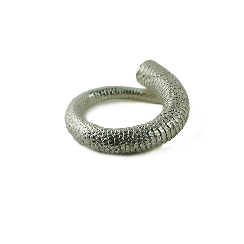 Solid Silver Tail Ring