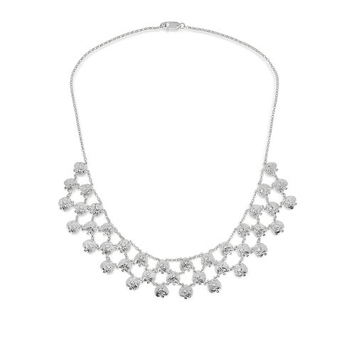 Silver Snout Chainmail Necklace