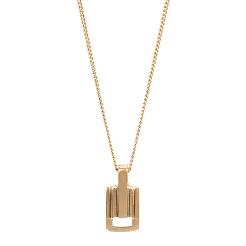 Solid 9 Carat Gold Small Link Pendant