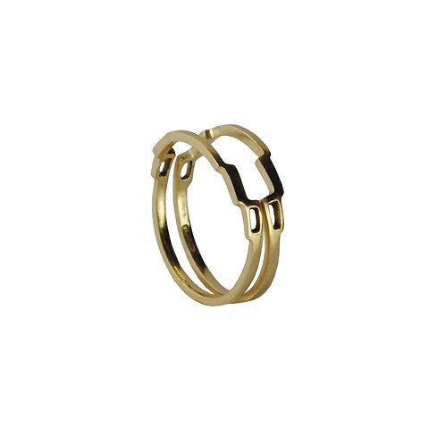 Skinny Link Stacking Ring