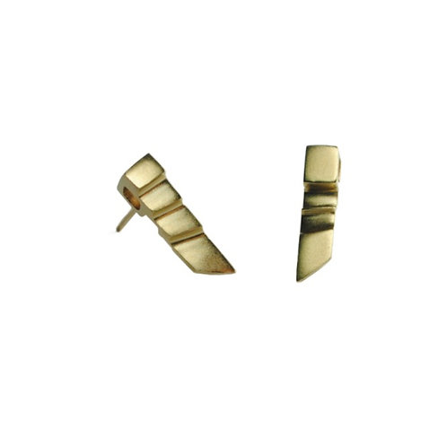 Small Art Deco Gold earrings