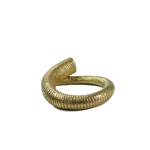 Solid 9 Carat Gold Tail Ring