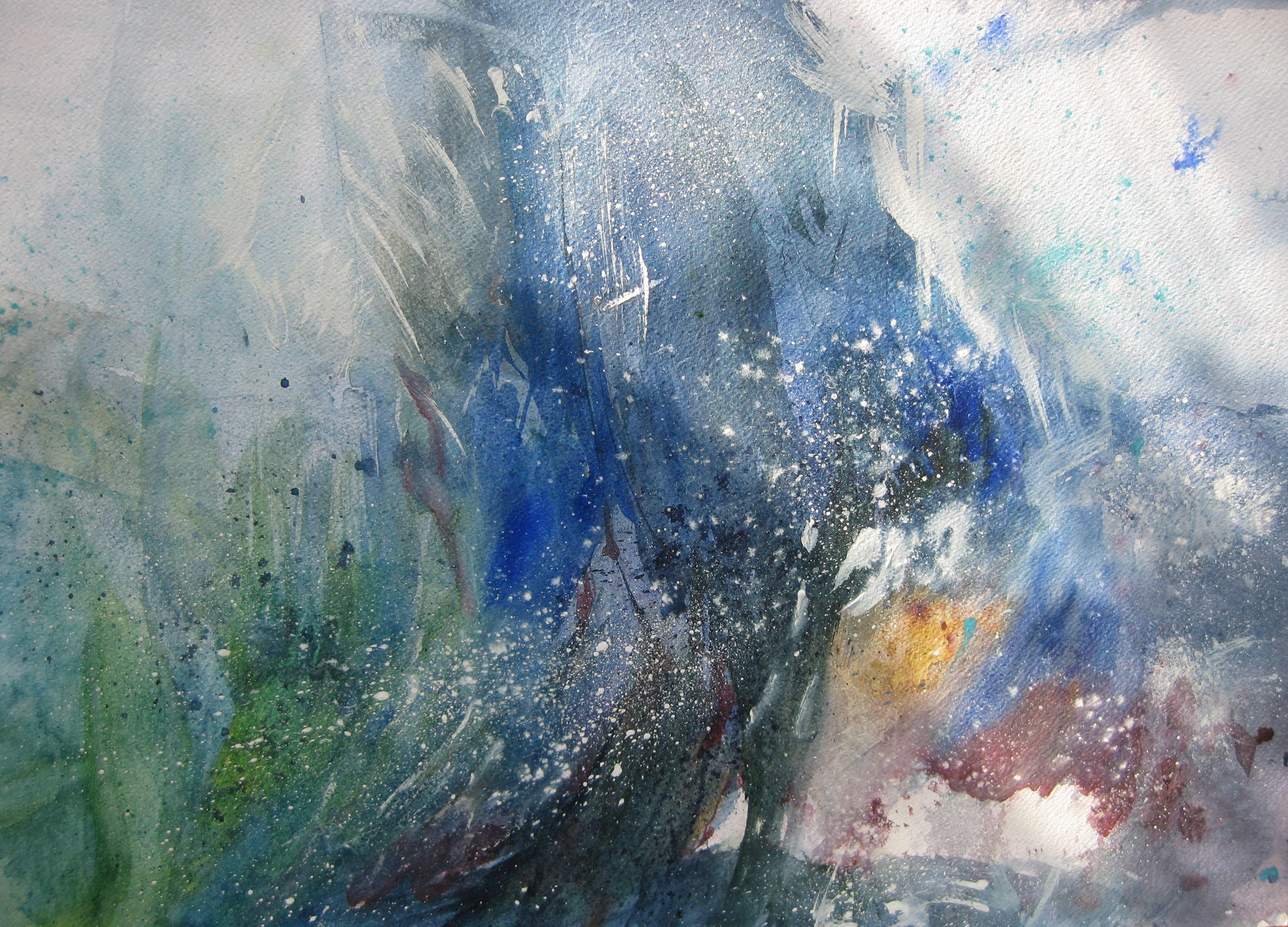 Spazi infiniti - acquerello