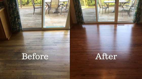 Our Services Total Floor Refinishing