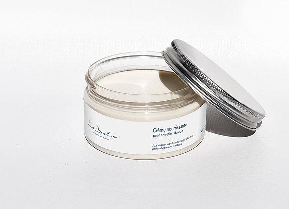 Pot de crème pour entretien cuir aperçu ouvert