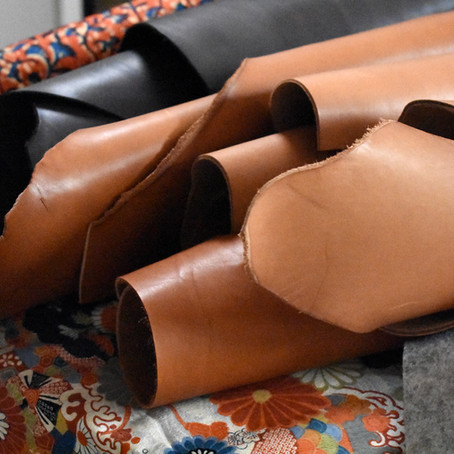 Le cuir, matière à sensations