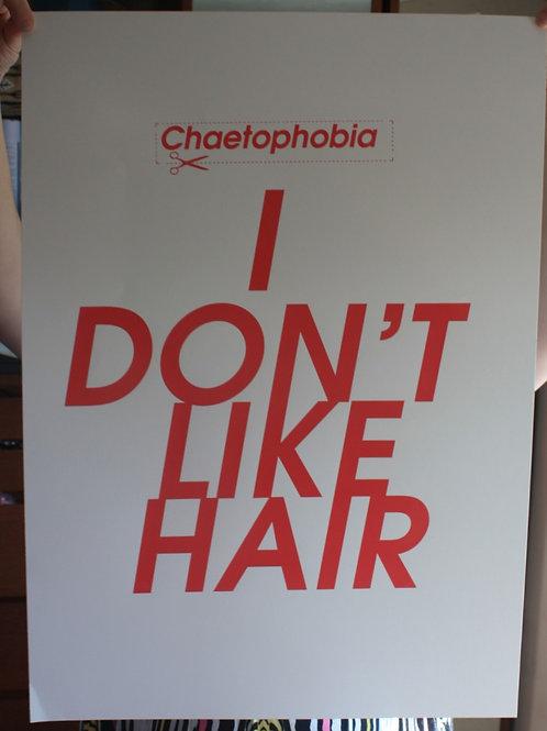 I don't like hair