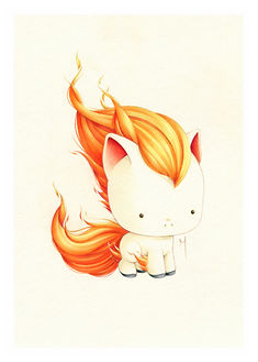 Mini Ponyta Prints