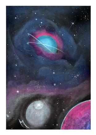 Mini Galactic Vortex