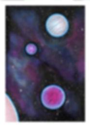 Mini Pink Space Print