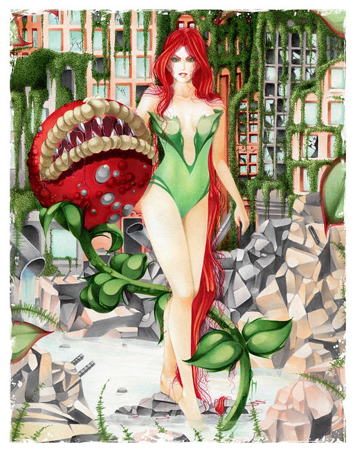 Big Poison Ivy Print