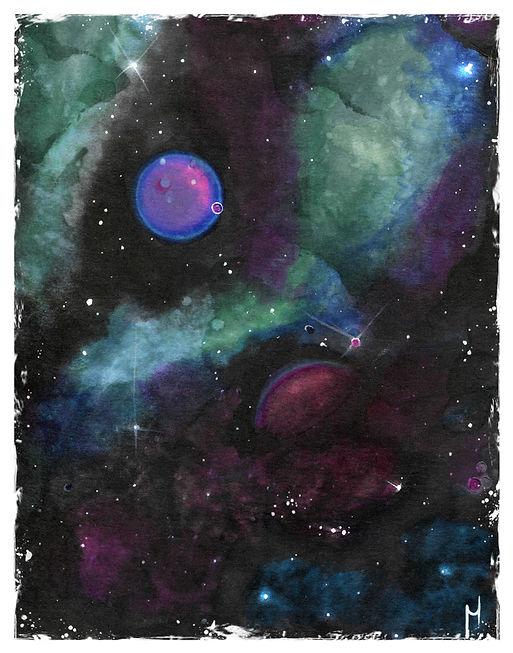 Big Hidden Planet Print