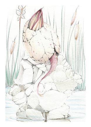 Mini Dragon Egg Print