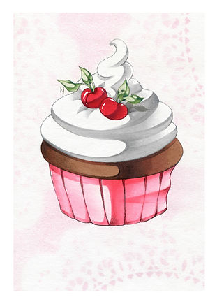 Mini Cup Cake Print