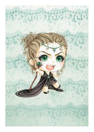 Mini Sorceress Print