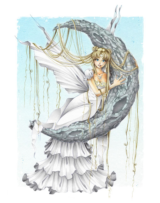 Big Princess Serenity Print