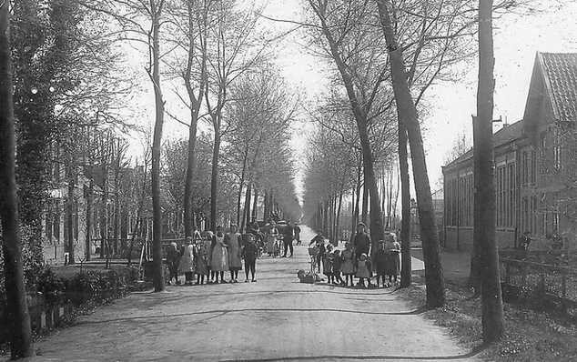 Noorddammerlaan rond 1910