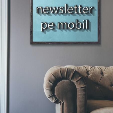 Opteaza pentru un newsletter optimizat pe mobil!