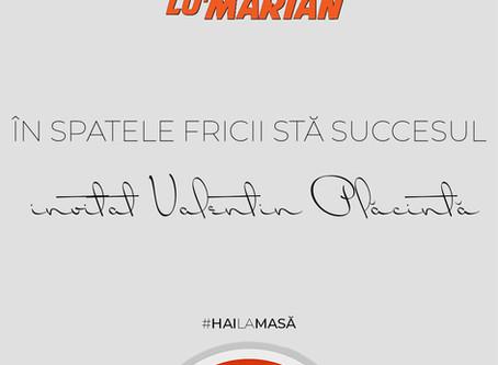 In spatele fricii sta succesul (invitat Valentin Placinta) • Borșul lu' Marian ep. 29