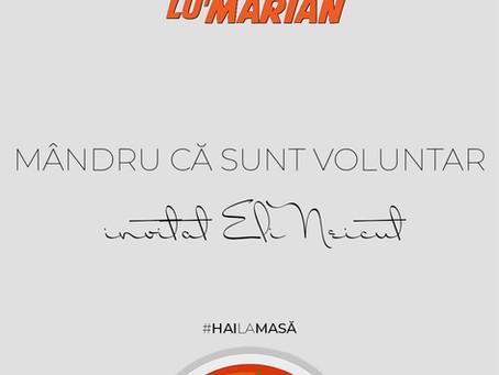 Mândru că sunt voluntar (invitat Eli Neicuț) • Borșul lu' Marian ep. 27