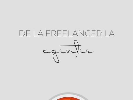 De la Freelancer la Agentie