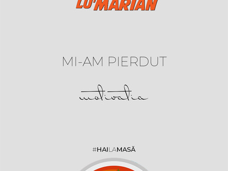 Mi-am pierdut motivația • Borșul lu' Marian ep. 30