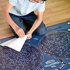 POPPIK skymap constellation glow in the