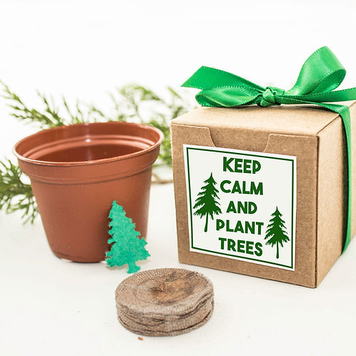 Keep Calm and Plant Trees Garden Set