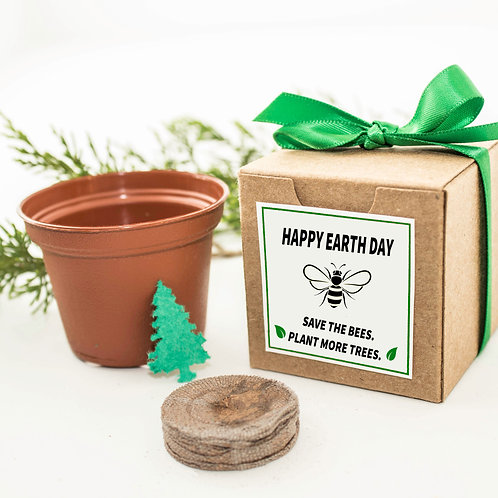 Save the Bees Earth Day Tree Grow Kit