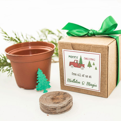 Merry Christmas Garden Set