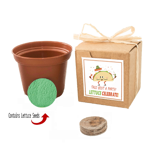Taco Party Lettuce Seed Grow Kit