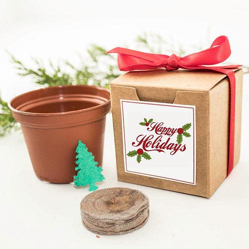 Happy Holidays Tree Grow Kit