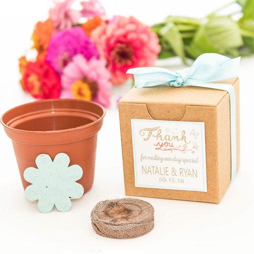 Custom Flower Seed Grow Kit