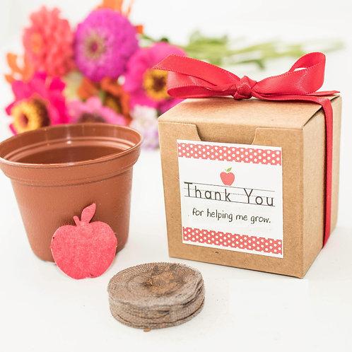 Teacher Appreciation Flower Garden Grow Kit