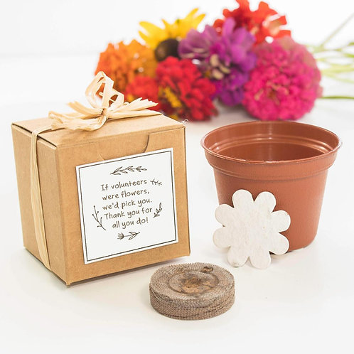 Volunteer Appreciation Flower Garden Grow Kit