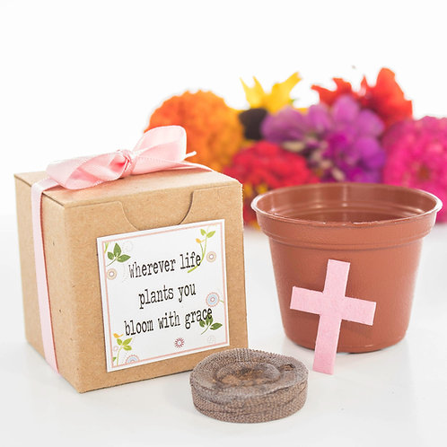 Baptism Flower Garden Grow Kit