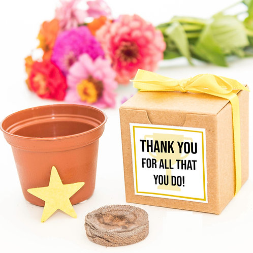 Thank You for All That You Do Flower Garden Grow Kit
