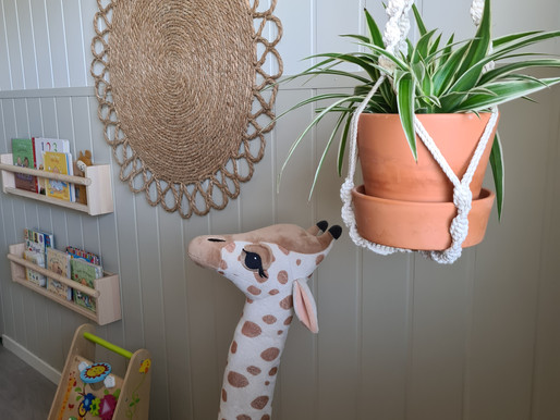 Grønnrenne på barnerommet