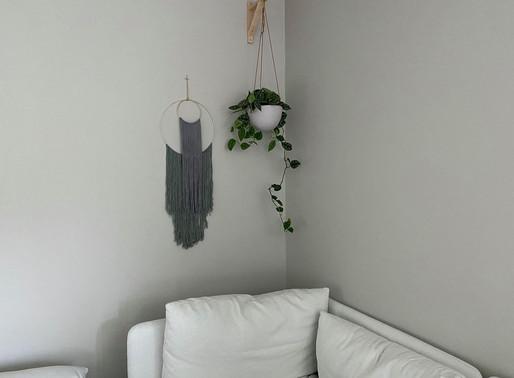 DIY; Bohemsk veggpynt